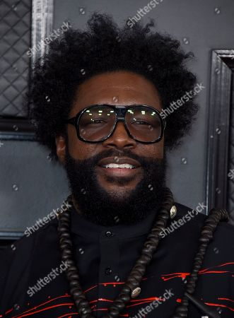 Questlove arrives at the 62nd annual Grammy Awards at the Staples Center, in Los Angeles