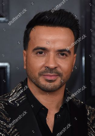 Luis Fonsi arrives at the 62nd annual Grammy Awards at the Staples Center, in Los Angeles