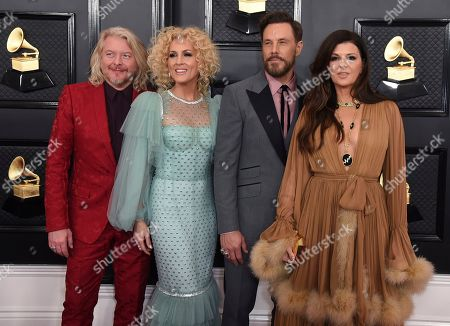 Phillip Sweet, Kimberly Schlapman, Jimi Westbrook, Karen Fairchild. Phillip Sweet, from left, Kimberly Schlapman, Jimi Westbrook and Karen Fairchild, of Little Big Town, arrive at the 62nd annual Grammy Awards at the Staples Center, in Los Angeles