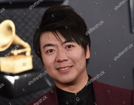 Lang Lang arrives at the 62nd annual Grammy Awards at the Staples Center, in Los Angeles