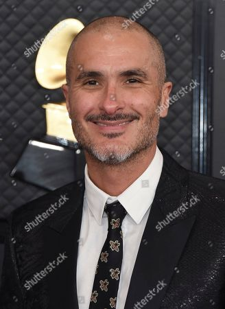 Zane Lowe arrives at the 62nd annual Grammy Awards at the Staples Center, in Los Angeles