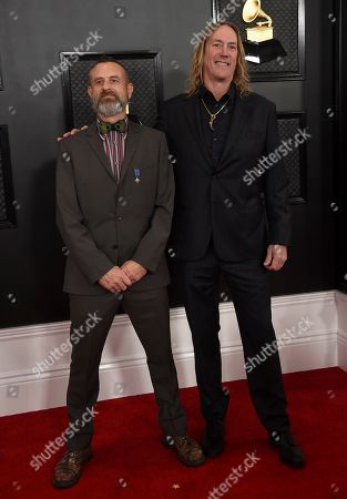 Justin Chancellor, Danny Carey. Justin Chancellor, left, and Danny Carey of Tool arrive at the 62nd annual Grammy Awards at the Staples Center, in Los Angeles