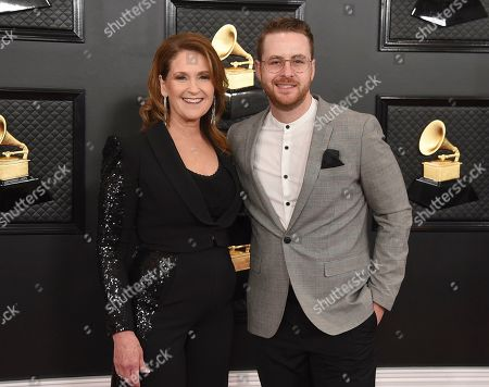 Lina Reynolds, Jordan Reynolds. Lina Reynolds, left, and Jordan Reynolds arrive at the 62nd annual Grammy Awards at the Staples Center, in Los Angeles