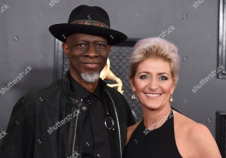 Stock Photo of Keb Mo ', Robbie Brooks Moore. Keb Mo ', left, and Robbie Brooks Moore arrive at the 62nd annual Grammy Awards at the Staples Center, in Los Angeles