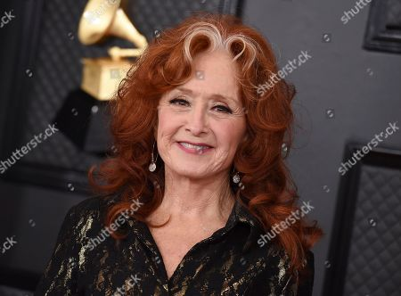 Bonnie Raitt arrives at the 62nd annual Grammy Awards at the Staples Center, in Los Angeles