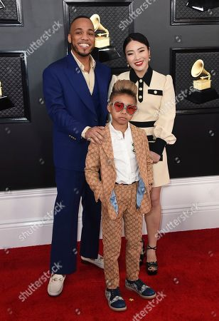 Jae Lin, Anderson. Paak, Soul Rasheed. Anderson. Paak, from left, Jae Lin and Soul Rasheed arrive at the 62nd annual Grammy Awards at the Staples Center, in Los Angeles