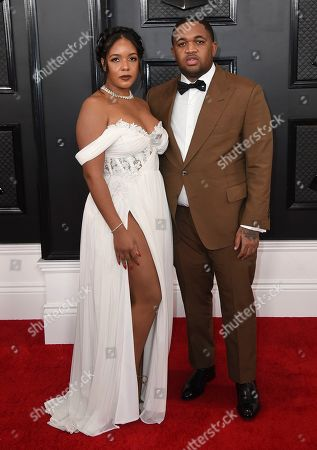 Chanel Dijon and DJ Mustard. Chanel Dijon, left, and DJ Mustard arrive at the 62nd annual Grammy Awards at the Staples Center, in Los Angeles