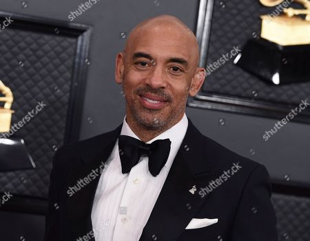 Interim President of The Recording Academy, Harvey Mason Jr.., arrives at the 62nd annual Grammy Awards at the Staples Center, in Los Angeles