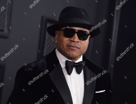 LL Cool J arrives at the 62nd annual Grammy Awards at the Staples Center, in Los Angeles