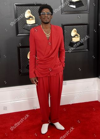 Labrinth arrives at the 62nd annual Grammy Awards at the Staples Center, in Los Angeles