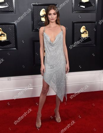 Grace Elizabeth arrives at the 62nd annual Grammy Awards at the Staples Center, in Los Angeles