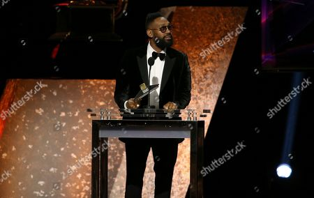 PJ Morton presents the award for best gospel performance/song at the 62nd annual Grammy Awards, in Los Angeles