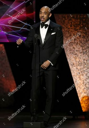 Harvey Mason Jr.. presents at the 62nd annual Grammy Awards, in Los Angeles
