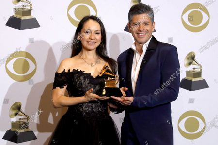 Editorial picture of Press Room - 62nd Annual Grammy Awards, Los Angeles, USA - 26 Jan 2020