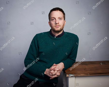 """Matt Wolf poses for a portrait to promote the film """"Spaceship Earth"""" at the Music Lodge during the Sundance Film Festival, in Park City, Utah"""
