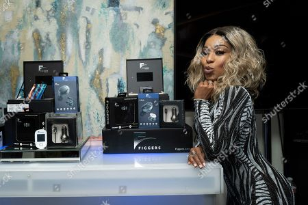 Editorial photo of H.E.R. Grammy Nominations Gifting Suite, Los Angeles, USA - 25 Jan 2020