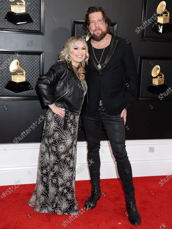 Crystal Williams and Zach Williams
