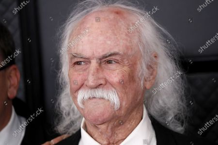 David Crosby arrives for the 62nd Annual Grammy Awards ceremony at the Staples Center in Los Angeles, California, USA, 26 January 2020.