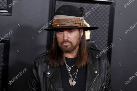 Billy Ray Cyrus arrives for the 62nd Annual Grammy Awards ceremony at the Staples Center in Los Angeles, California, USA, 26 January 2020.