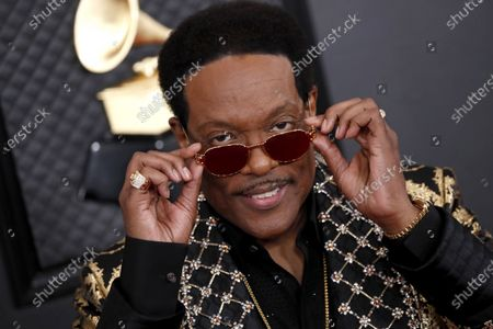 Charlie Wilson arrives for the 62nd annual Grammy Awards ceremony at the Staples Center in Los Angeles, California, USA, 26 January 2020.