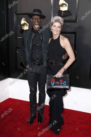 Keb Mo ' (L) and Robbie Brooks Moore arrive for the 62nd Annual Grammy Awards ceremony at the Staples Center in Los Angeles, California, USA, 26 January 2020.