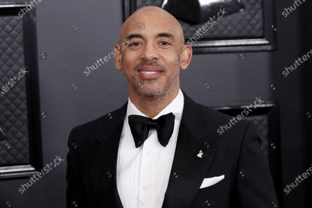 Harvey Mason Jr... arrives for the 62nd Annual Grammy Awards ceremony at the Staples Center in Los Angeles, California, USA, 26 January 2020.