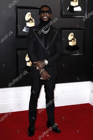 Editorial photo of Arrivals - 62nd Annual Grammy Awards, Los Angeles, USA - 26 Jan 2020