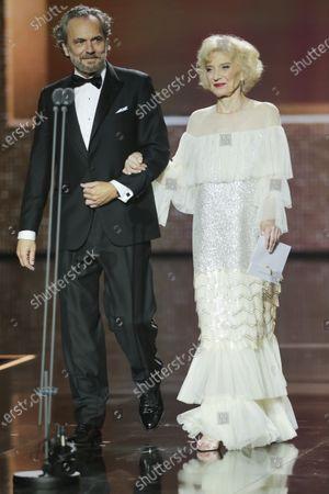 Jose Coronado and Marisa Paredes