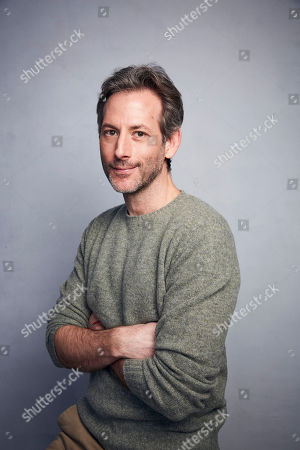 "Jeff Baena poses for a portrait to promote the film ""Horse Girl"" at the Music Lodge during the Sundance Film Festival, in Park City, Utah"