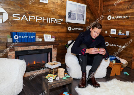 Bill Skarsgard poses for a photo at the Los Angeles Times Studio at Sundance Film Festival presented by Chase Sapphire, in Park City, Utah