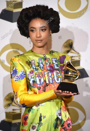 Esperanza Spalding - Best Jazz Vocal Album for '12 Little Spells'