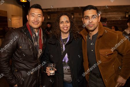Daniel Dae Kim, Wilmer Valderrama. Daniel Dae Kim, from left, and Wilmer Valderrama are seen at the Music Lodge during the Sundance Film Festival, in Park City, Utah