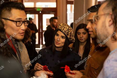 Daniel Dae Kim is seen at the Music Lodge during the Sundance Film Festival, in Park City, Utah