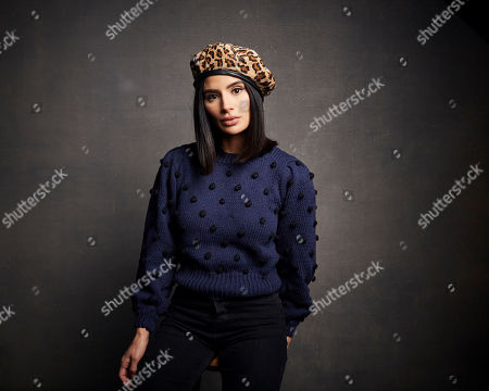 "Diane Guerrero poses for a portrait to promote the film ""Blast Beat"" at the Music Lodge during the Sundance Film Festival, in Park City, Utah"