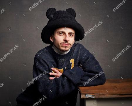 "Editorial photo of 2020 Sundance Film Festival - ""Blast Beat"" Portrait Session, Park City, USA - 26 Jan 2020"