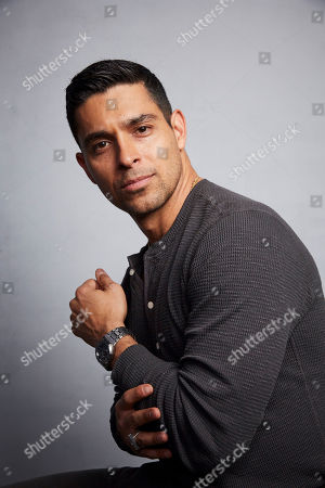 """Wilmer Valderrama poses for a portrait to promote the film """"Blast Beat"""" at the Music Lodge during the Sundance Film Festival, in Park City, Utah"""