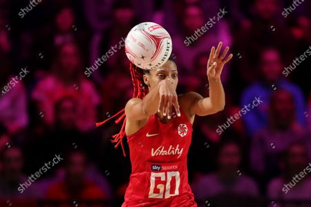 Stacey Francis of England Roses in action