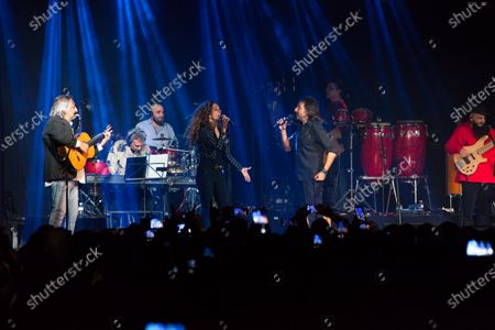 Editorial picture of Ketama in concert, Show, Sala La Riviera, Madrid, Spain - 23 Jan 2020