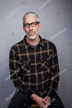 """Mark Monroe poses for a portrait to promote the film """"The Cost of Silence"""" at the Music Lodge during the Sundance Film Festival, in Park City, Utah"""