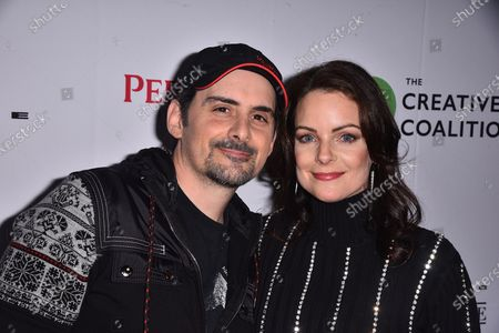 Stock Picture of Brad Paisley and Kimberly Williams-Paisley