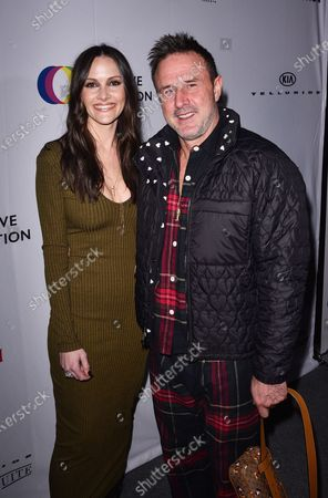 Stock Picture of Christina McLarty and David Arquette