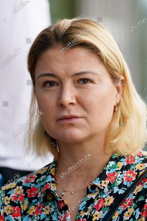 Dinara Safina of Russia takes part in the Legends All Access Hour at the Australian Open tennis tournament at Melbourne Park in Melbourne, Australia, 27 January 2020.