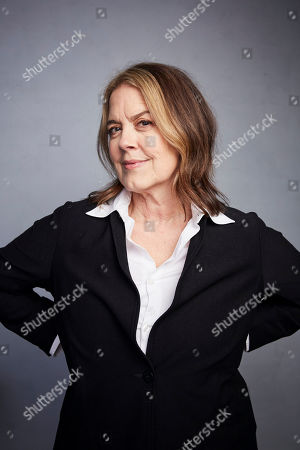 """Stock Photo of Marina Zenovich poses for a portrait to promote the film """"Lance"""" at the Music Lodge during the Sundance Film Festival, in Park City, Utah"""