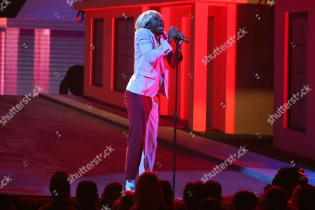Stock Picture of Charlie Wilson performs at the 62nd annual Grammy Awards, in Los Angeles