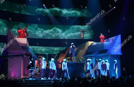 Editorial picture of 62nd Annual Grammy Awards - Show, Los Angeles, USA - 26 Jan 2020