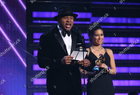 LL Cool J presents the award for album of the year at the 62nd annual Grammy Awards, in Los Angeles