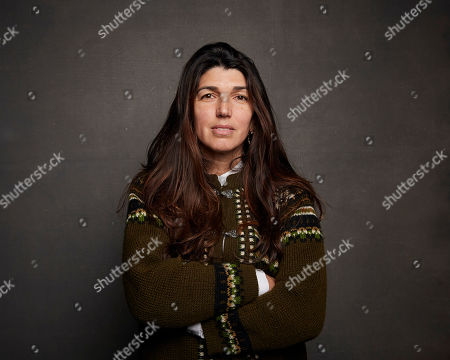 """Stock Image of Zeina Durra poses for a portrait to promote the film """"Luxor"""" at the Music Lodge during the Sundance Film Festival, in Park City, Utah"""