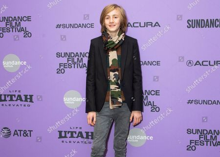 """Stock Photo of Charlie Shotwell attends the premiere of """"The Nest"""" at the Eccles Theatre during the 2020 Sundance Film Festival, in Park City, Utah"""
