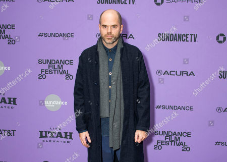 """Sean Durkin attends the premiere of """"The Nest"""" at the Eccles Theatre during the 2020 Sundance Film Festival, in Park City, Utah"""