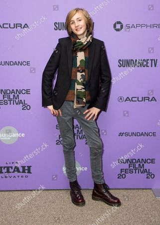 """Charlie Shotwell attends the premiere of """"The Nest"""" at the Eccles Theatre during the 2020 Sundance Film Festival, in Park City, Utah"""